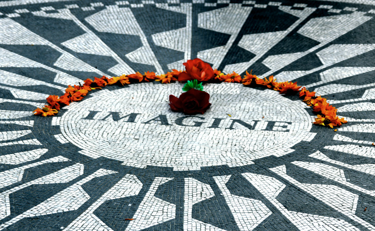 Strawberry Fields John Lennon Central Park