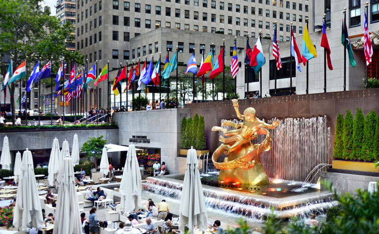 Rockefeller Center New York Tour